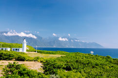 Lighthouse, Hualien, Taiwan Royalty Free Stock Photos