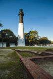 Lighthouse in Hunting Island State Park, South Carolina. Lighthouse at Hunting Island State Park, South Carolina Royalty Free Stock Image