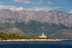 Lighthouse on Hvar, Croatia Stock Images
