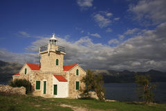 Lighthouse on Hvar island, Croatia Royalty Free Stock Photography