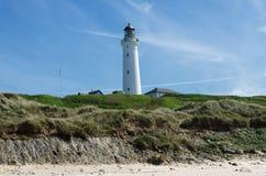 Lighthouse i fine day Stock Photography
