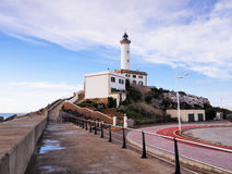 Lighthouse in Ibiza Town Stock Photos