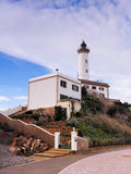 Lighthouse in Ibiza Town Royalty Free Stock Image