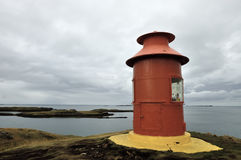 Lighthouse in Iceland. Stock Photography