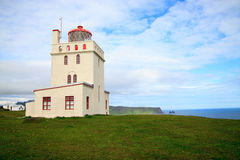 Lighthouse in Iceland Stock Photography