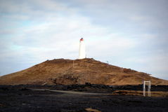 Lighthouse in Iceland Royalty Free Stock Image