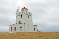 Lighthouse on Iceland Stock Photography