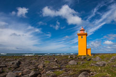 Lighthouse in Iceland Royalty Free Stock Photos