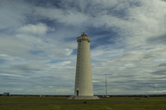 Lighthouse Iceland, south-west point Royalty Free Stock Images