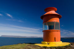 Lighthouse, Iceland. Lighthouse in Stykkisholmur, West Iceland Stock Photo
