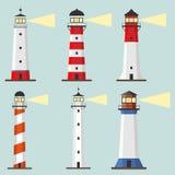 Lighthouse icon stock illustration