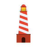 Lighthouse icon image Royalty Free Stock Image