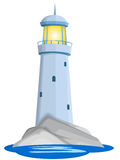 Lighthouse. Icon vector illustration background stock illustration