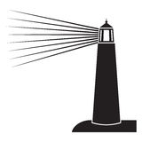 Lighthouse icon Royalty Free Stock Images