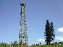 Lighthouse at Ifafa. A historic lighthouse at Ifafa beach - South coast KZN Royalty Free Stock Image