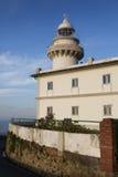Lighthouse of Igeldo mountain, San Sebastian Royalty Free Stock Photo