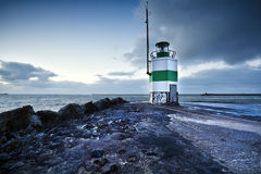 Lighthouse in IJmuiden royalty free stock images