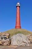 Lighthouse IJmuiden (Netherlands). Stock Photo