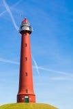Lighthouse of IJmuiden, Netherlands Royalty Free Stock Image