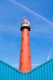 Lighthouse of IJmuiden, Netherlands Stock Images