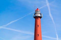 Lighthouse of IJmuiden, Netherlands Royalty Free Stock Photo