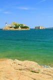 Lighthouse Ile Louet Royalty Free Stock Photography
