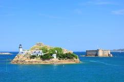 Lighthouse Ile Louet, France Stock Photos