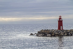 Lighthouse in Imperia Royalty Free Stock Photos
