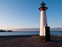 Lighthouse In Assens Denmark Stock Image