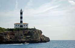 Lighthouse In Mallorca Stock Image