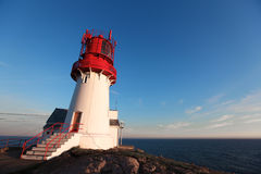 Lighthouse In South Norway Royalty Free Stock Image