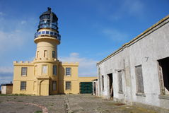 Lighthouse at Inchkeith Stock Photo