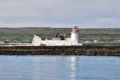 Lighthouse at Inishmore, Aran islands (Ireland) Stock Photography