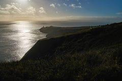 Lighthouse in Ireland. Near to Dublin Royalty Free Stock Photo