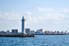 Lighthouse at Ishigaki, Japan Royalty Free Stock Image