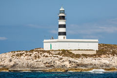 Lighthouse on Isla de Es Penjats near Ibiza, Balearic Islands, S Stock Photography
