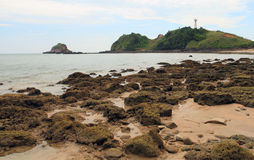 Lighthouse on the island of Koh Lanta Stock Photography