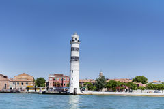 Lighthouse on the island Murano Stock Photos