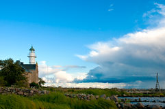 Lighthouse on the island Oeland, Sweden Royalty Free Stock Photos