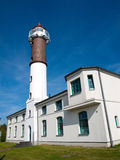 Lighthouse island Poel. Of the Lighthouse on the island of Poel in early summer Stock Images