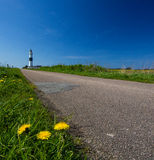 Lighthouse on the island of Sylt Stock Photography