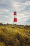 Lighthouse on the island Sylt Royalty Free Stock Images
