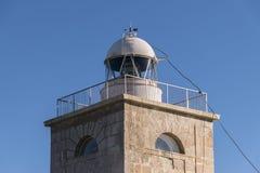 Lighthouse on the island of Tabarca, Santa Pola, Alicante Royalty Free Stock Image
