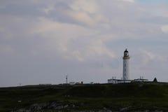 Lighthouse. Islay, Scotland - lighthouse on the peninsula Stock Photography