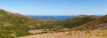 Lighthouse of isle Giraglia Stock Photography