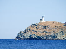 Lighthouse of isle Giraglia royalty free stock image
