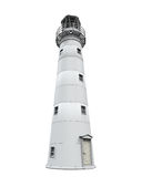Lighthouse Isolated. On white background. 3D render Stock Images