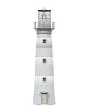Lighthouse Isolated. On white background. 3D render Royalty Free Stock Photography