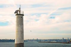 Lighthouse. In Istanbul Kadikoy disctrit Royalty Free Stock Photography