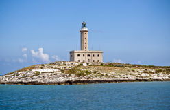 A lighthouse in Italy Royalty Free Stock Photos